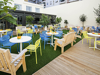 B-to-B patio Ibis Nice Centre Gare Durante