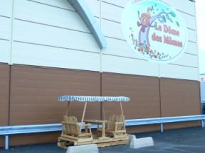 B-to-B balançoire à roues Dôme des Mômes