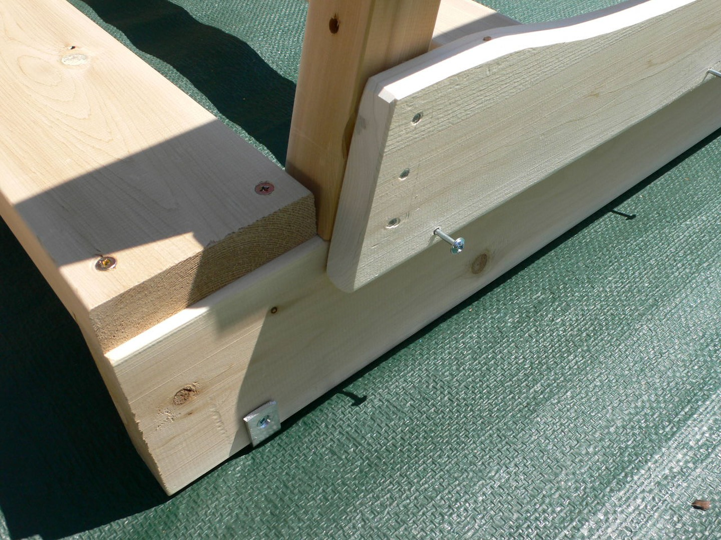 Etape 1 : Supports des Bancs