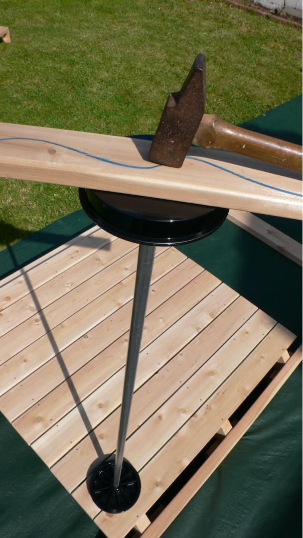 Etape 3 : Table et roues