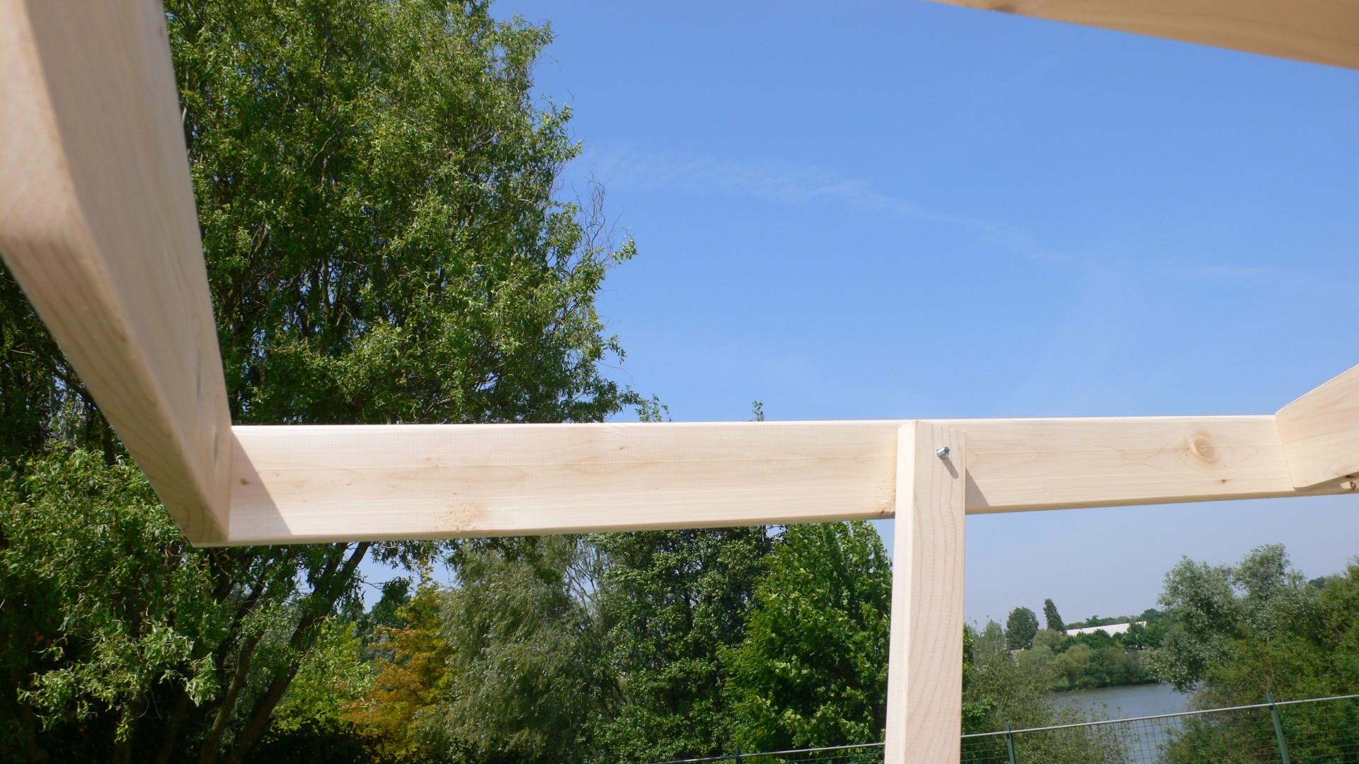 Etape 5 : Supports de toit