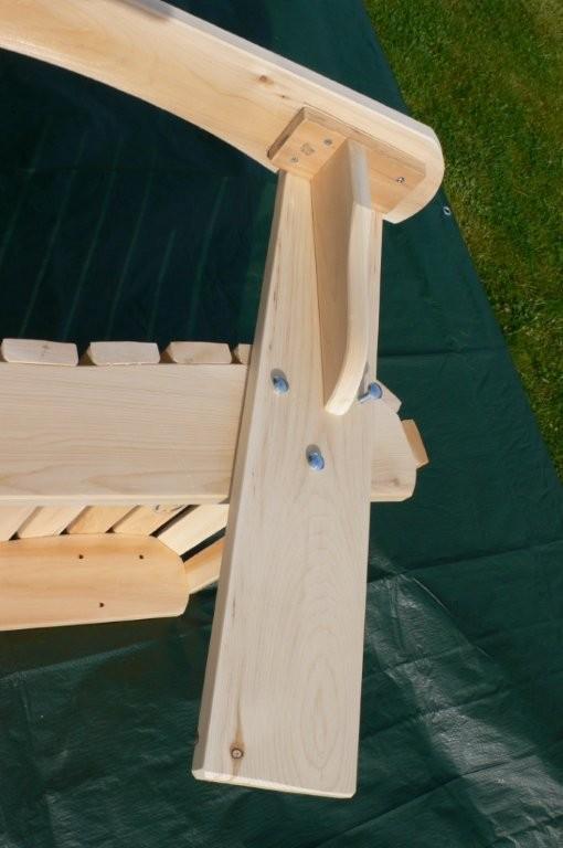 montage du fauteuil adirondack fixe