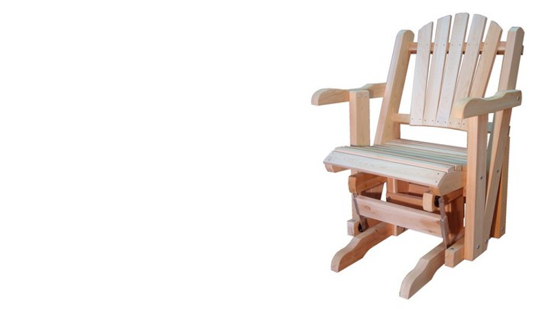 Rocking-Chair Adirondack 1 place