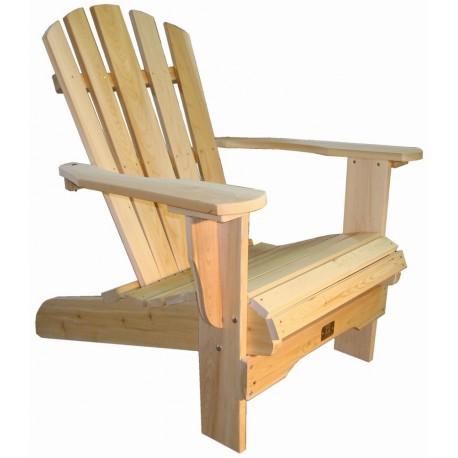 Fauteuil adirondack fauteuil de jardin en bois muskoka westport chair for Fauteuil de jardin en bois