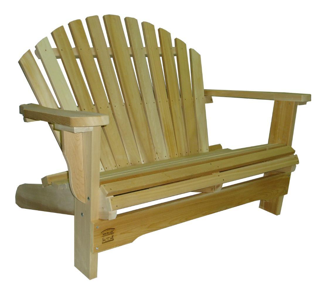 Salon De Jardin Americain fauteuil adirondack fauteuil de jardin en bois muskoka
