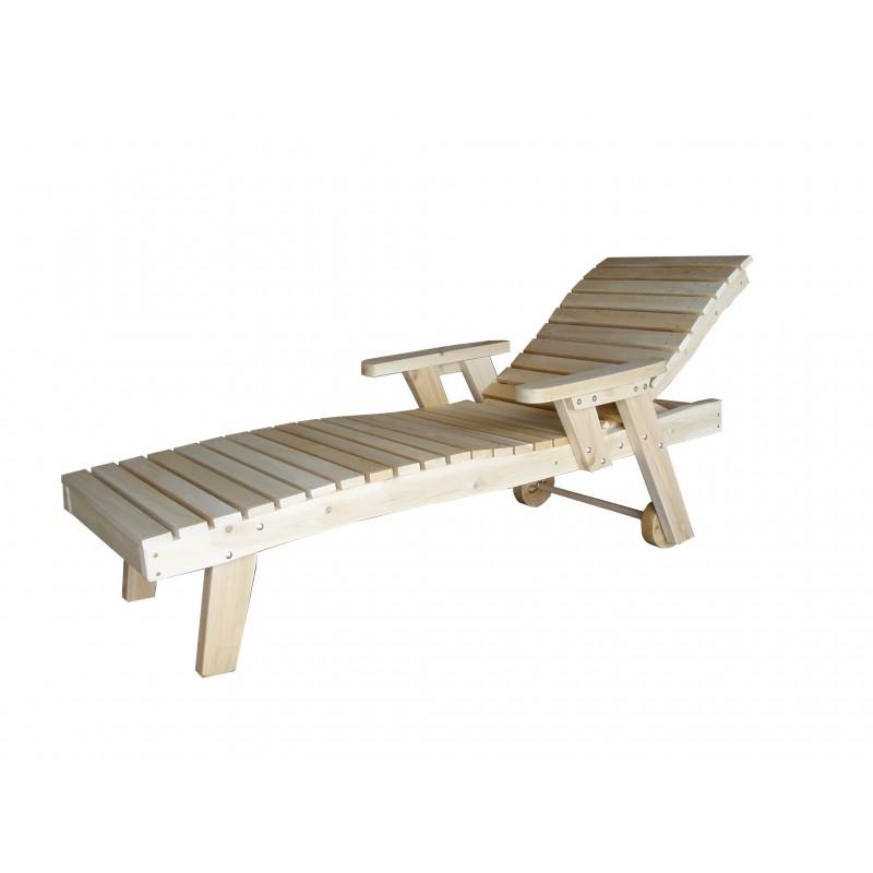 Chaise longue bain de soleil kebek for Chaises bain de soleil