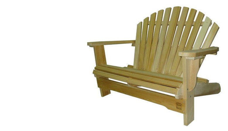 Banc Love-Seat Adirondack 2 places