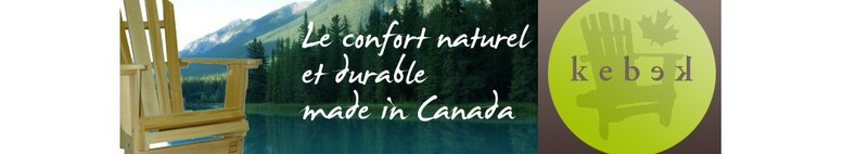 confort naturel et durable, made in Canada, usine à Québec